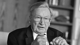 Der Unternehmer und Erfinder Artur Fischer