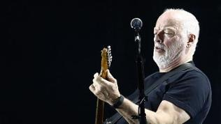 David Gilmour in Santiago, Chile, 2015