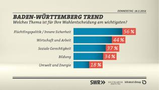 BW-Trend Wichtig für Wahlentscheidung