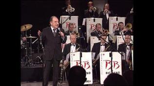 Paul Kuhn bei einem Auftritt mit der SWR Big Band