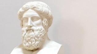 Büste des griechischen Philosophen Platon