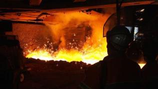Stahlgewinnung in der Dillinger Hütte