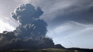Ausbruch des Laacher See Vulkans - Animation
