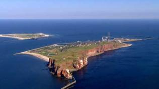 Luftaufnahme Insel Helgoland