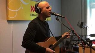 Milow im Studio