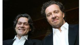 Der Bariton Christian Gerhaher und der Pianist Gerold Huber
