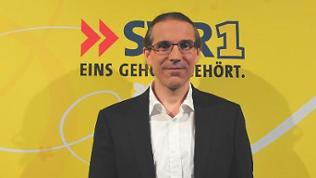 Dr. Fahmy Aboulenein, Neurologe,  ist am 7. Juli 2016 zu Gast bei Wolfgang Heim in SWR1 Leute
