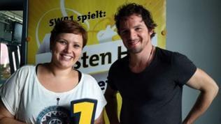 Steffi Stronczyk und Felix Klare