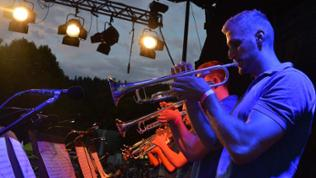 Real Sound Band beim SWR4 Blechduell 2016 in Bad Liebenzell
