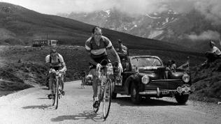 40th Tour de France 10th Stage Pau - Cauterets In pictures: Gino Bartali faces an uphill