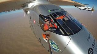 Solar Impulse 2 plane lands in Abu Dhabi