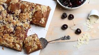 Cherry-Almond-Coffeecake