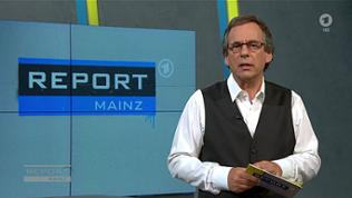 Fritz Frey im Report-Mainz-Studio