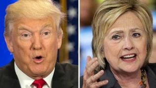 Hillary Clinton und Donald Trump
