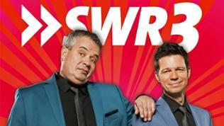 SWR3 Comedy Festival 2017: Sascha Zeus (li.) und Michael Wirbitzky (re.), die SWR3 Morningshow-Stars.