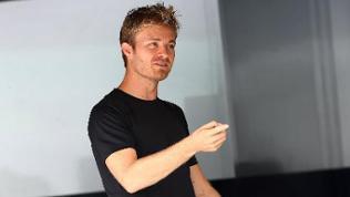 Nico Rosberg im T-Shirt