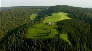 Flugaufnahme Schwarzwaldhof