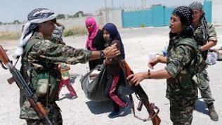 Kämpfer der kurdischen Miliz YPG in Nordsyrien