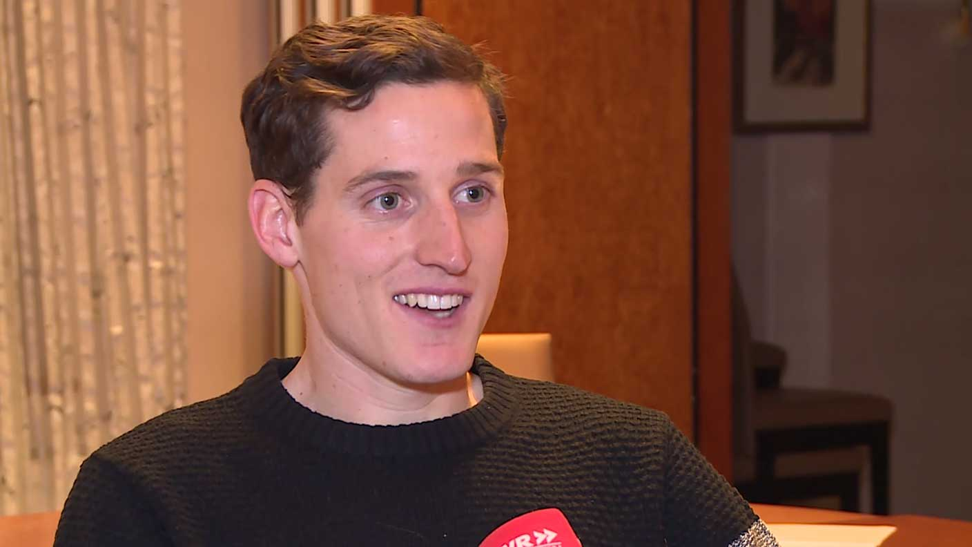 Il 28-anni, 176 cm alto Sebastian Rudy in 2018 photo