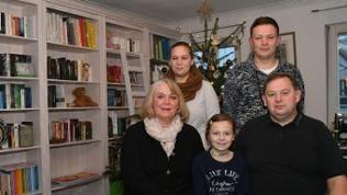 Die Metzger-Familie Grießhaber aus Mössingen im Landkreis Tübingen