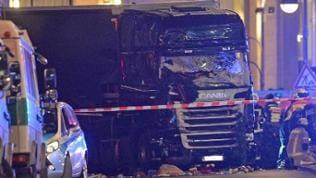 Der Unglücks-LKW von Berlin, er fuhr durch einen Weihnachtsmarkt an der Gedächtniskirche