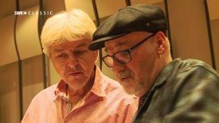 Klaus Wagenleiter von der SWR Big Band und Paul Carrack