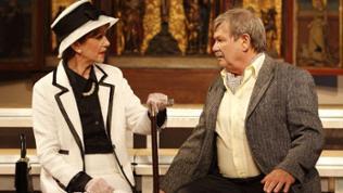 """Theaterszene """"Der Besuch der alten Dame"""""""