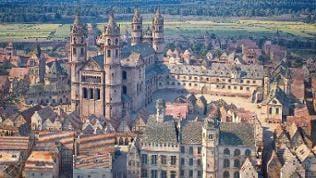 Der Dom in Worms im Jahr 1521