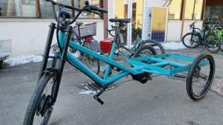Die Rikschas sind Vorbild für die Lastenräder der Mössinger Firma Radkutsche.