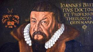 Johannes Brenz  - Ölgemälde