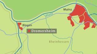 Karte von Dromersheim