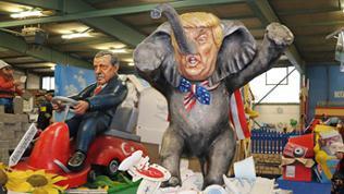"""Motivwagen """"Trump-el-tier"""""""