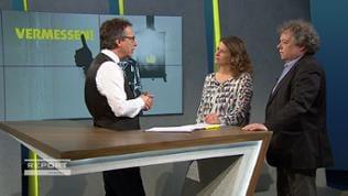 Fritz Frey im Gespräch mit Monika Anthes und Andreas Orth