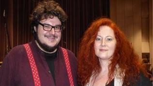 Regisseur Axel Ranisch und Martina Eisenreich