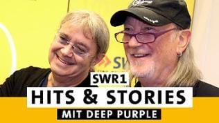 Ian Paice und Roger Glover von Deep Purple im SWR1 Studio
