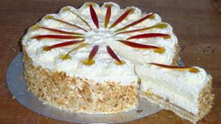 Michaels Mango Torte