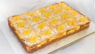 Mango-Pfirsich-Schnitten