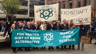 """""""March for Science"""" in Freiburg"""