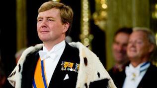 Der niederländische Prinz Willem-Alexander wird zum König gekrönt