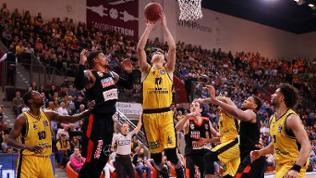Ludwigsburg Basketball MHP Riesen Ludwigsburg vs. ratiopharm Ulm