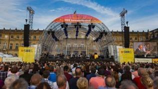 SWR Sommerfestival vor der Bühne
