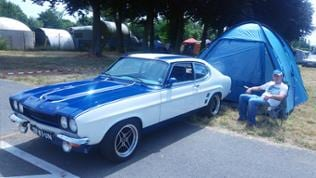 Ford Capri Treffen in Speyer