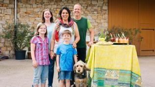 SWR Landfrau Maren Bornheimer-Schwalbach mit Familie
