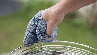 fertiger Handschuh