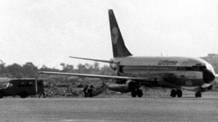 """Lufthansa-Flugzeug """"Landshut"""""""