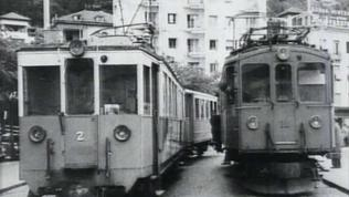 Machatanbahn am piazza della stazione