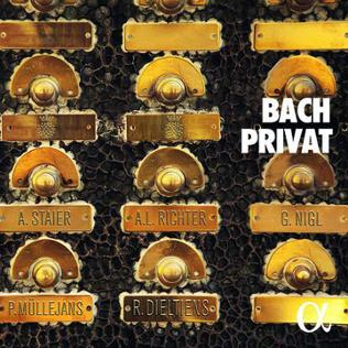 CD-Cover Bach Privat