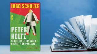 Buchcover: Peter Holtz. Sein glückliches Leben erzählt von ihm selbst.