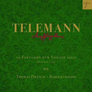 CD-Cover Telemann
