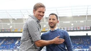 Julian Nagelsmann und Domenico Tedesco